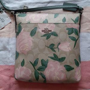 Coach Camo Rose Crossbody Bag